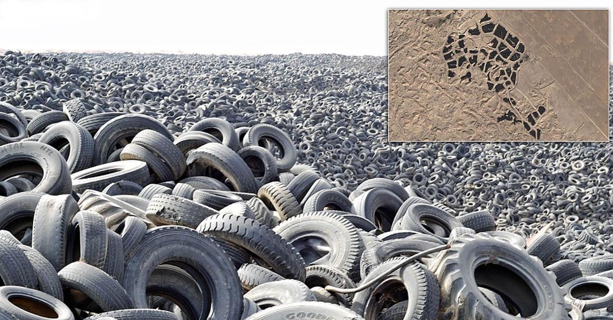 Как и во что перерабатывают автомобильные шины в России?