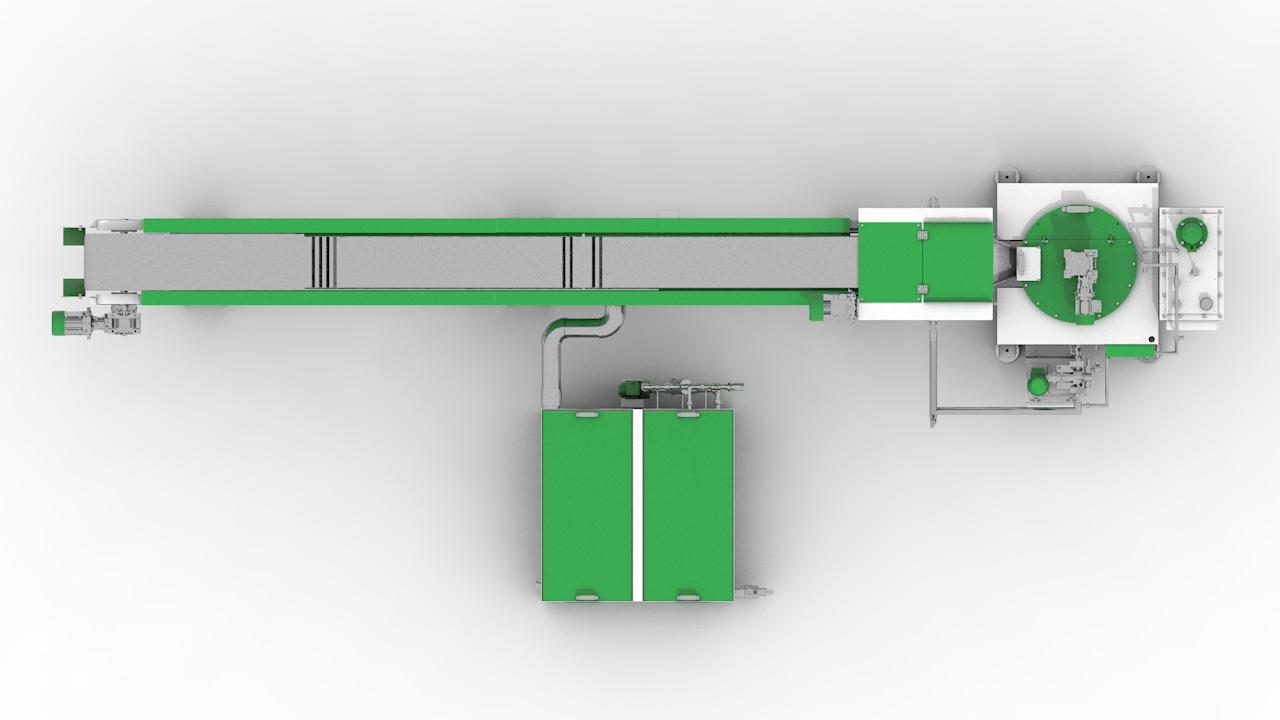 Линия грануляции СТАНКО ЛГВ-120