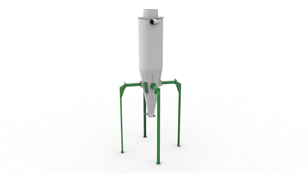 Циклон-накопитель ЦН-80