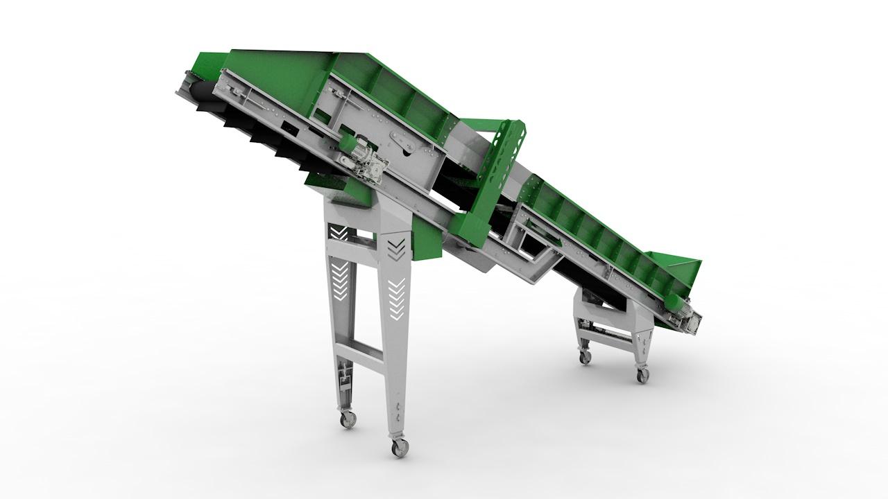 Транспортер-металлодетектор ЛТМ-600