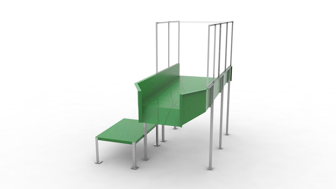 Стол раскладочный С-СР-ПЭТ