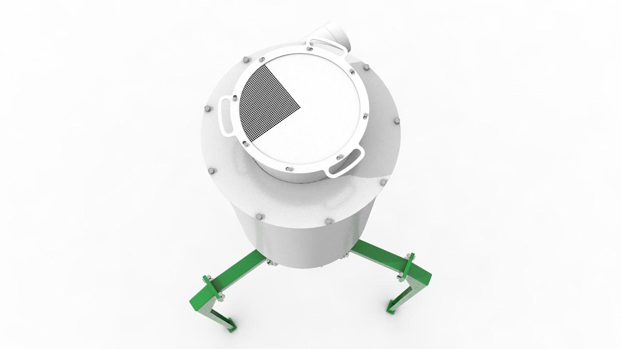 Циклон-накопитель ЦН-62