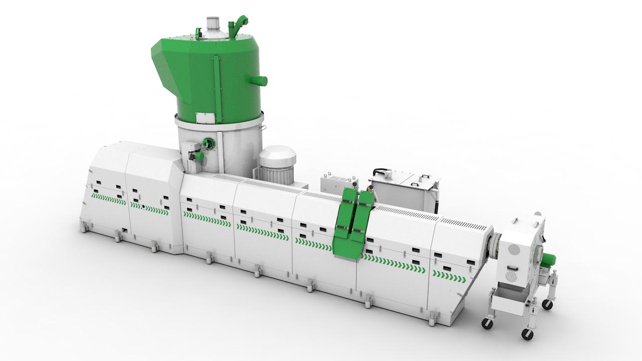 Экструдер-компактор СТАНКО-150/160