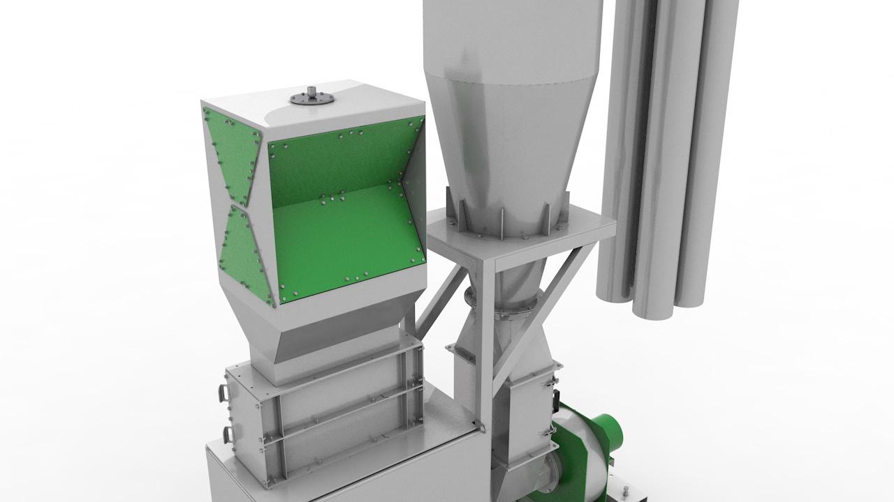 Досушка полимеров СТАНКО ДП-500