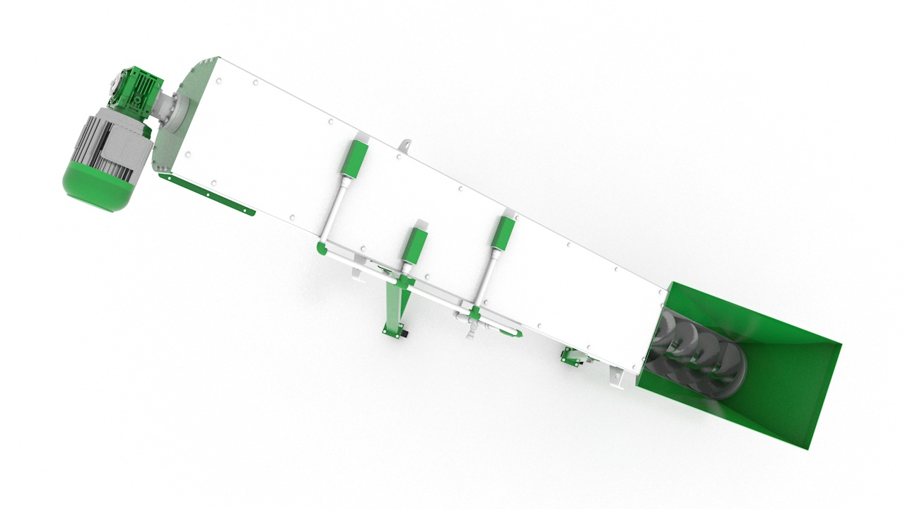 Шнековый транспортер ШТР-550