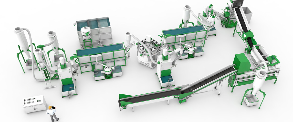 Первый автоматизированный завод по переработке ПЭТ в Республике Туркменистан!